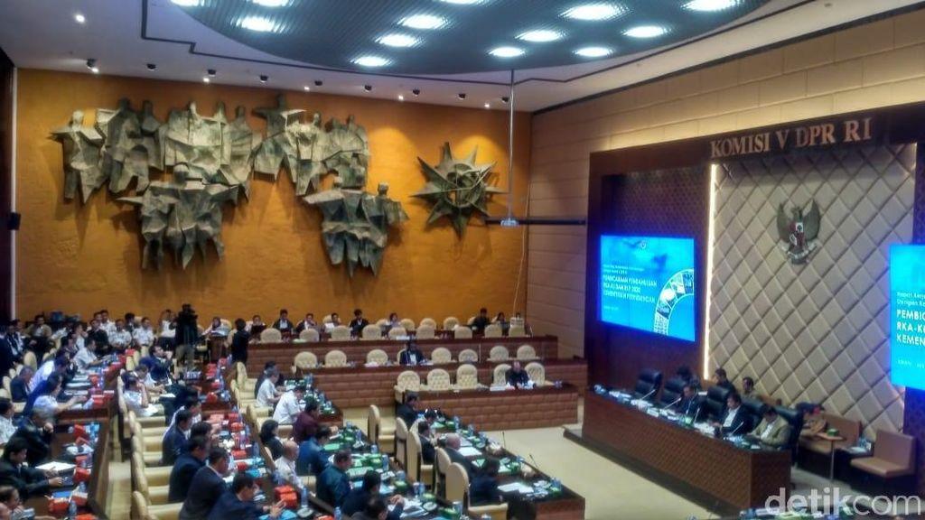 DPR Panggil Menhub Bahas Anggaran Tahun 2020