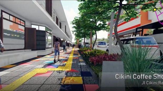 Pemprov DKI Anggarkan Rp 75 M untuk Revitalisasi Trotoar Cikini-Kramat