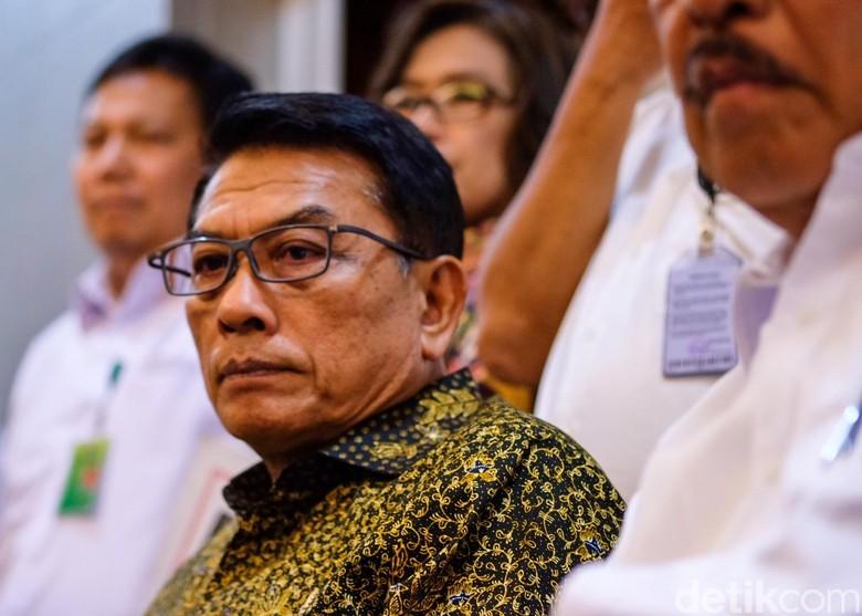 Moeldoko Respons DPR yang Minta Kominfo Segera Serahkan Draf RUU PDP