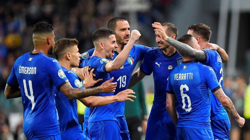 Kemenangan Dramatis Italia di Kualifikasi Piala Eropa 2020