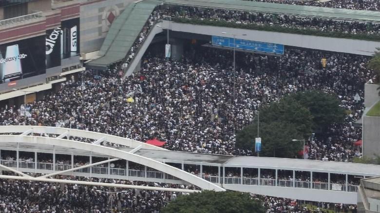 KJRI Imbau WNI Hindari Lokasi Unjuk Rasa di Hong Kong