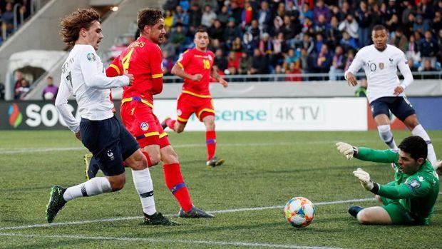 Hasil Kualifikasi Piala Eropa 2020: Prancis Kalahkan Andorra