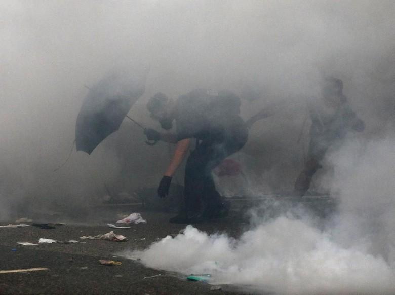 Polisi Hong Kong Tangkap 11 Demonstran RUU Ekstradisi ke China