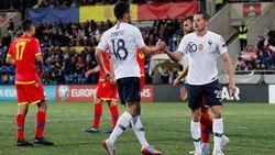 Hasil Kualifikasi Piala Eropa 2020: Prancis Bekap Andorra 4-0