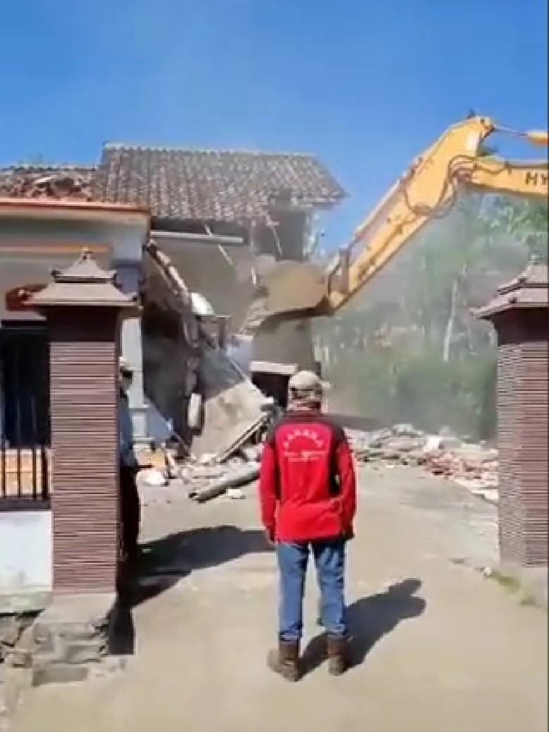 Sebelum Viral Rumah Dihancurkan, Pasutri Pemiliknya 5 bulan Pisah Ranjang