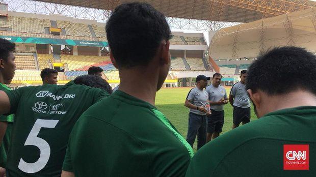 Latihan Perdana Timnas Indonesia U-19, Empat Pemain Absen
