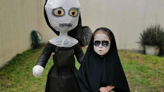 Beda! Anak 3 Tahun Ini Rayakan Ultah dengan Konsep Horor