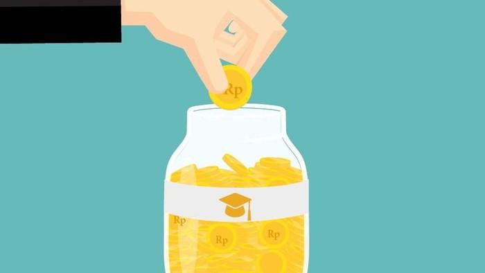 Ilustrasi Uang Sekolah