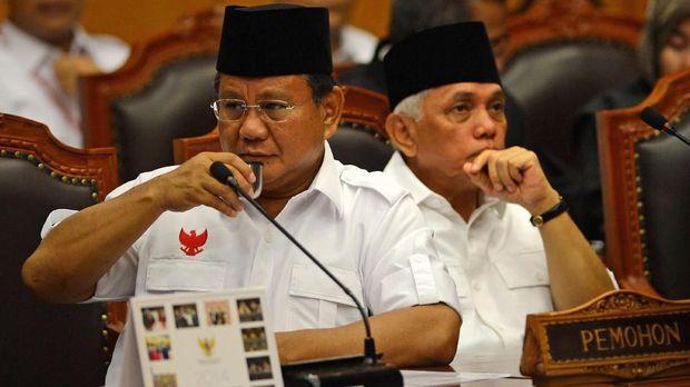 Gugatan Prabowo di MK 2014 dan 2019, Serupa tapi Tak Sama