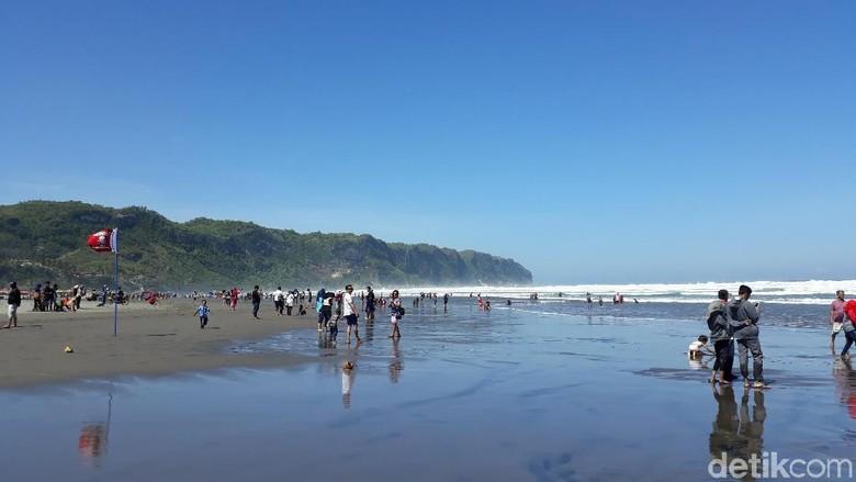 Foto: Pantai Parangtritis (Pradito Rida Pertana/detikTravel)