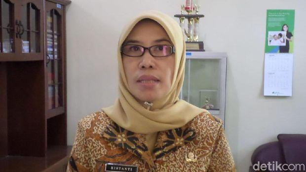 Kepala Dinas Tenaga Kerja Wonogiri, Ristanti.