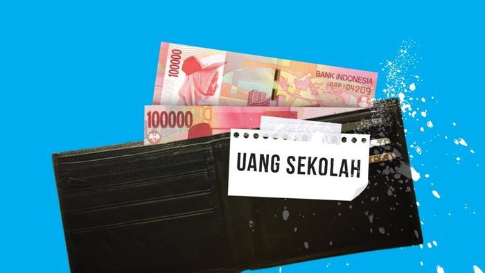 Foto: Ilustrasi Uang Sekolah (Tim Infografis: Zaki Alfarabi & Mindra Purnomo)