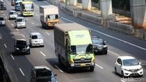 Polisi Putar Balikkan 4 Truk yang Selundupkan Pemudik di Bekasi