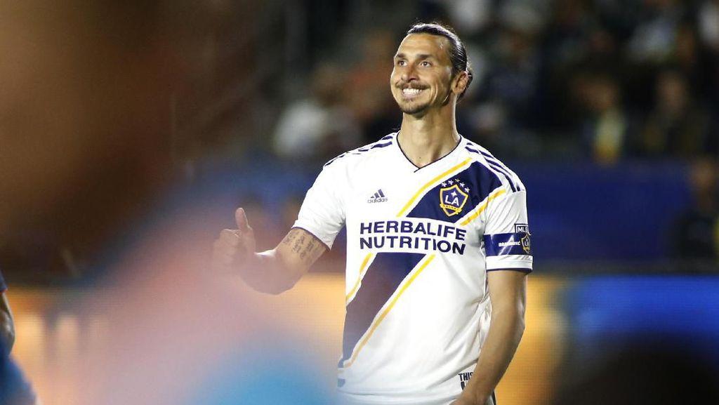 Ibrahimovic Patahkan Rekor Gaji di MLS