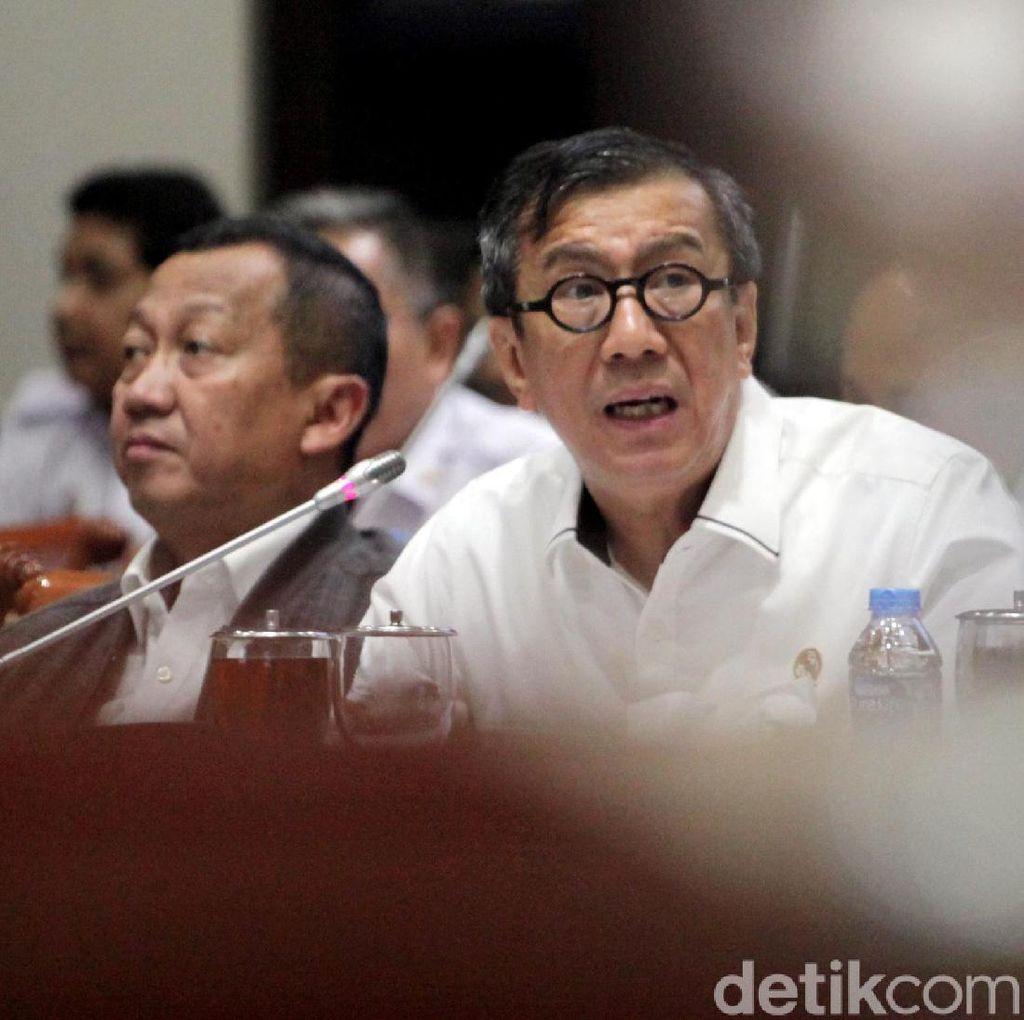 Berseteru, Menkum HAM-Wali Kota Tangerang Bertemu di Kantor Presiden