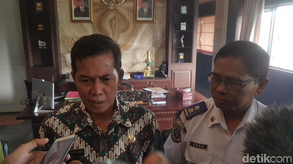 Wali Kota Serang Minta Dishub Tertibkan Parkir Liar di Banten Lama