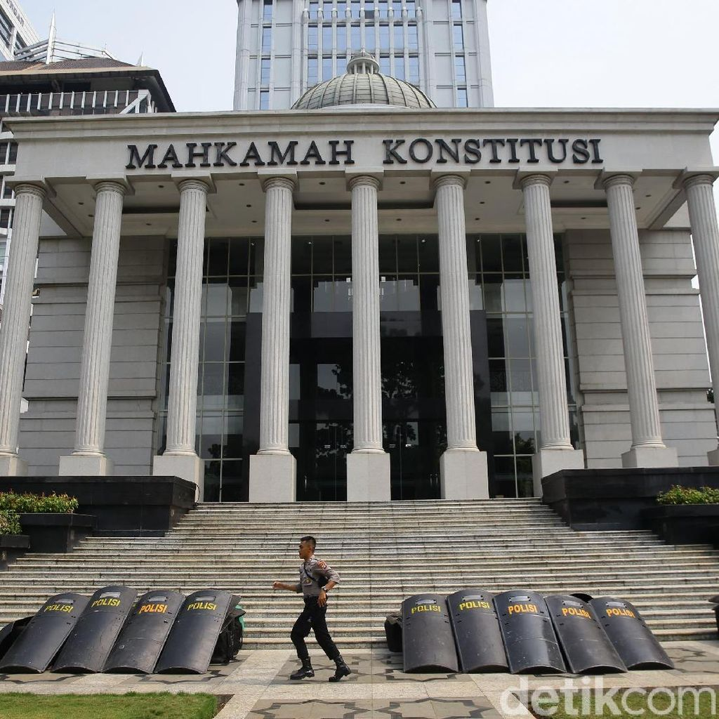 Sidang Sengketa Pilpres ke-3, Jalan Depan MK Arah Thamrin Dibuka