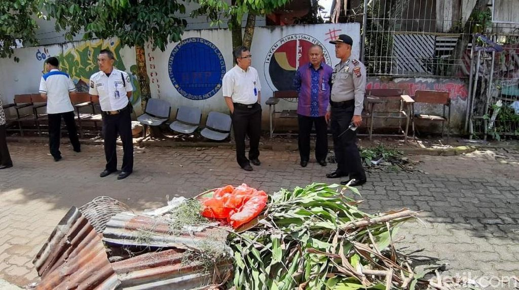 1 Kantong Plastik Ganja Ditemukan Berserakan di Universitas Bung Hatta