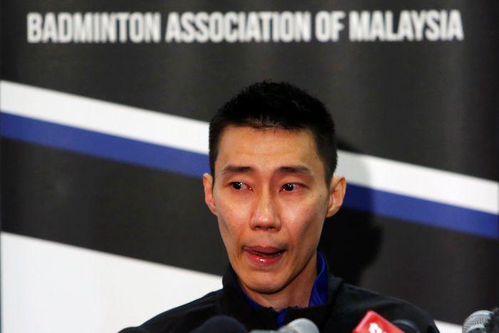 Pebulutangkis Malaysia mengumumkan pensiun dari bulutangkis melalui konferensi pers siang ini, Kamis (13/6/2019). Lai Seng Sin/Reuters.
