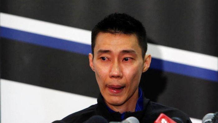 Lee Chong Wei putuskan gantung raket. (Foto: Lai Seng Sin/Reuters)