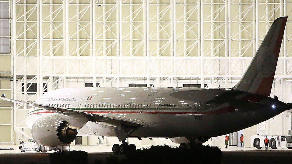 Meksiko Jual Pesawat Kepresidenan untuk Atasi Migrasi Ilegal