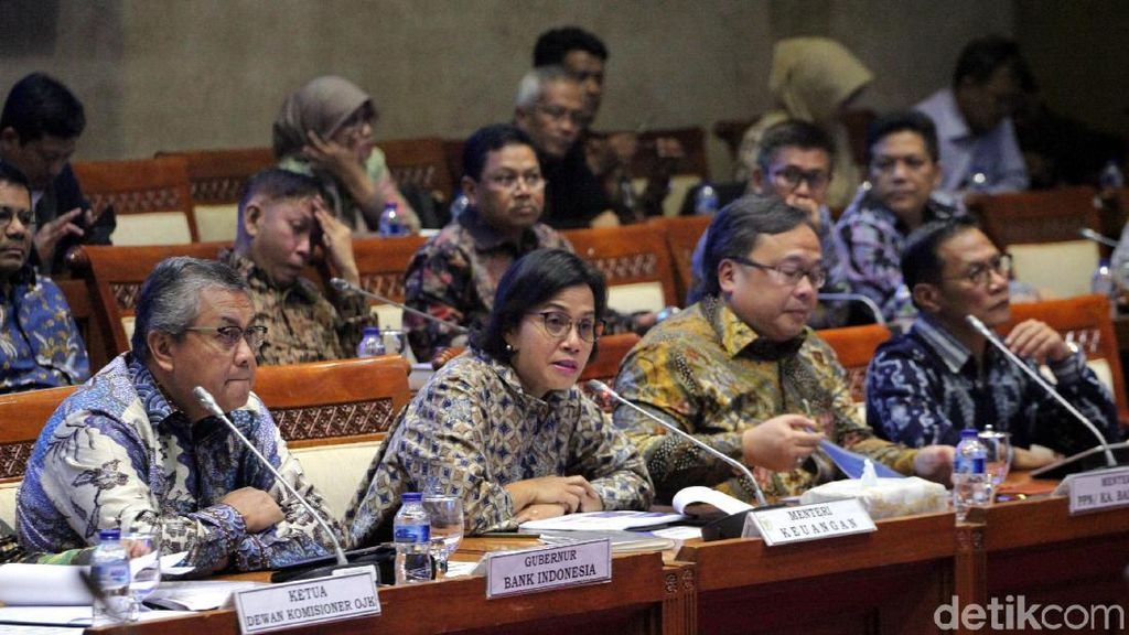 Rapat Bareng Sri Mulyani Cs, Anggota DPR Serang soal Utang