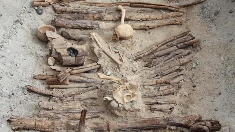 Makam misterius di pedalaman Himalaya (Xinhua Wu/CNN)