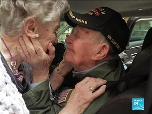 So Sweet! Pasangan yang Terpisah Saat Perang, Bertemu Lagi Setelah 75 Tahun