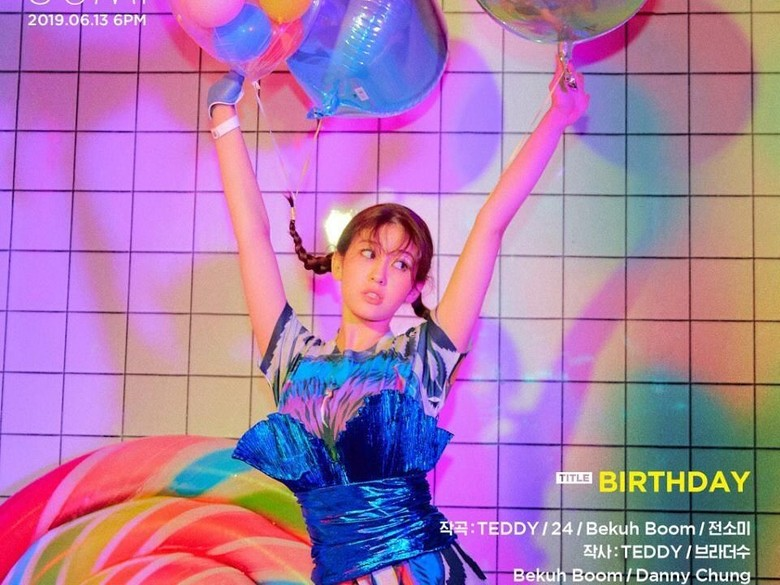 Debut Solo Ceria Jeon So Mi dengan Birthday