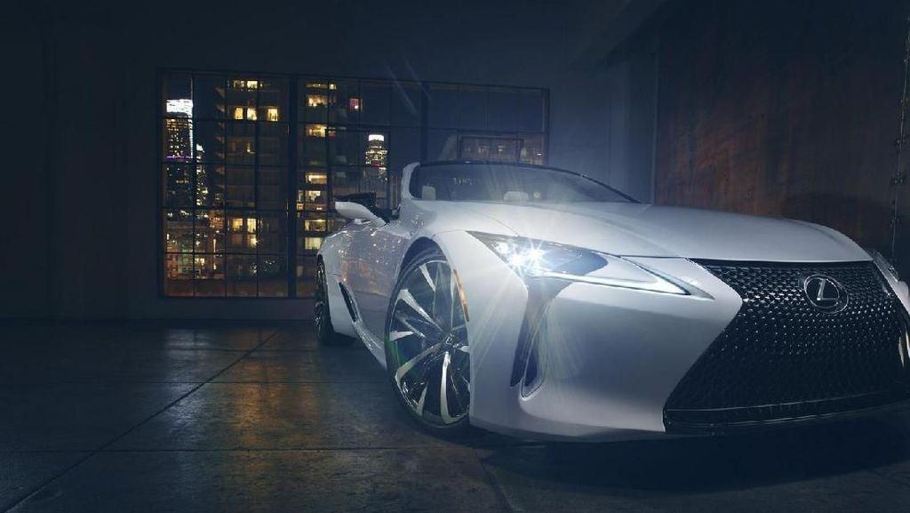 Aduh, Cantik Bangat Lexus LC Tanpa Atap Ini