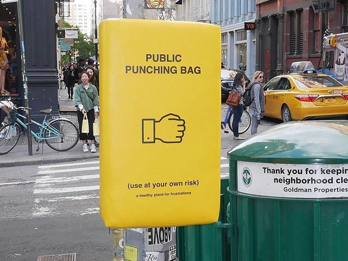 Public Punchin Bag. Foto: Dok. Studio donttakethisthewrongway