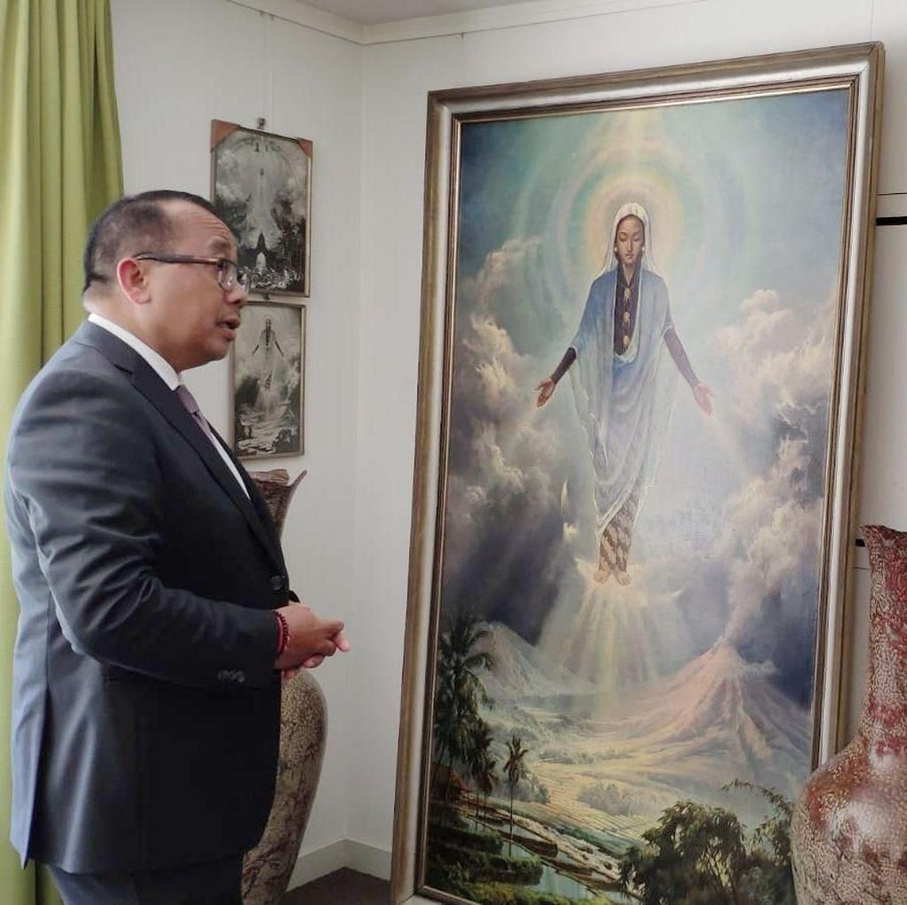 Ini Inspirasi Basoeki Abdullah Melukis Bunda Maria Berpakaian Khas Jawa