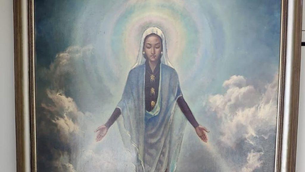 Basoeki Abdullah Ciptakan Ikonografi Baru di Lukisan Bunda Maria