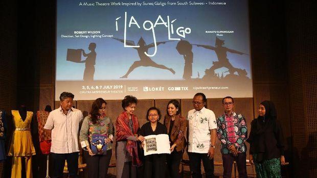 Sukses di Mancanegara, 'I La Galigo' Butuh 300 Kostum Rancangan Bin House