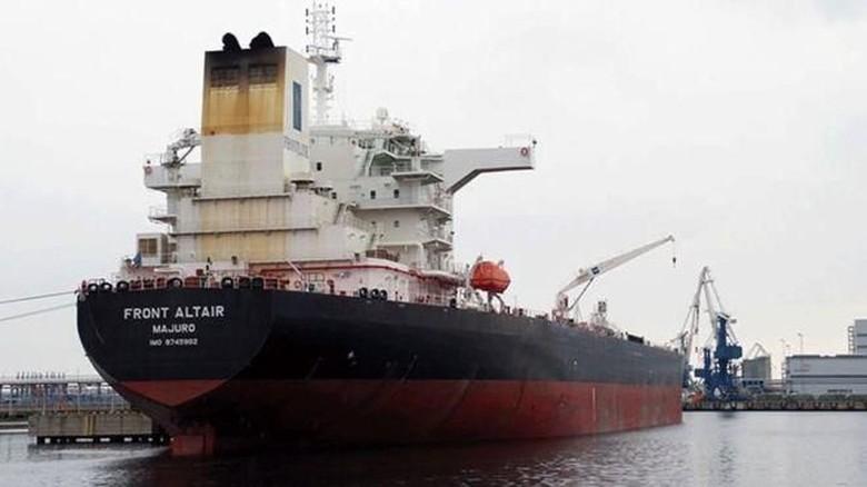 AS Tuduh Iran di Balik Serangan 2 Kapal Minyak di Teluk Oman