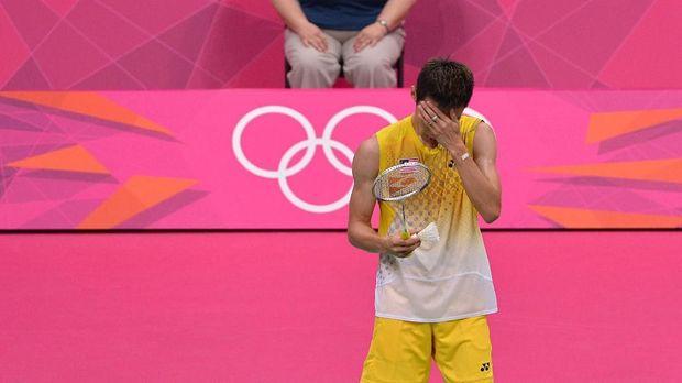 Lee Chong Wei harus puas jadi runner up di tiga final Olimpiade.