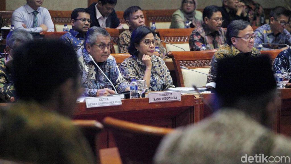 Bahas Anggaran 2020, Sri Mulyani hingga Gubernur BI Kumpul di DPR