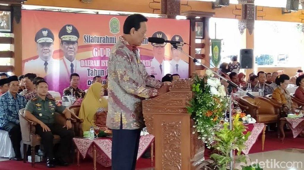 Sultan HB X Ajak Jokowi-Prabowo Islah