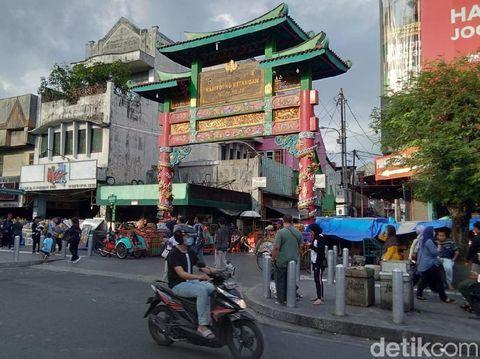 Ini Lho Gapura Pecinan Yogyakarta yang Dikira di Shanghai
