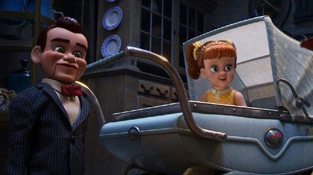 'Toy Story 4' Bawa Gabby Gabby, Boneka Menyenangkan Tapi Mengancam