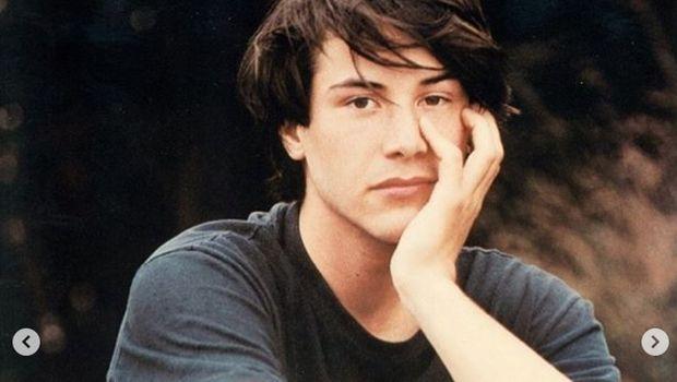 Keanu Reeves dari instagram.