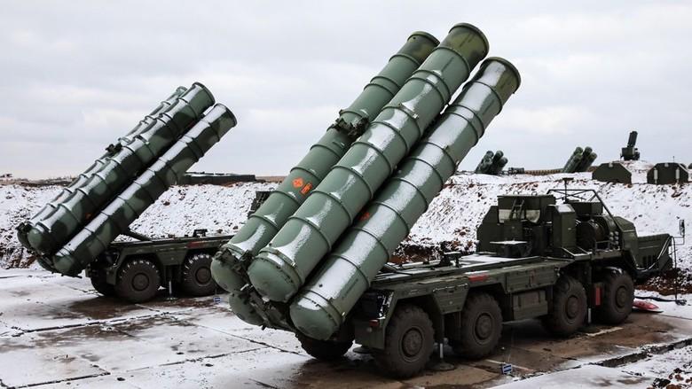Meski Ditentang AS, Turki Datangkan Sistem Rudal S-400 Buatan Rusia