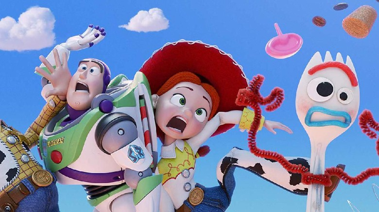 Buzz Lightyear, Trixie, Forky. Foto: Toy Story 4 (imdb)