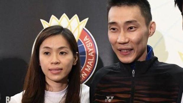 lee Chong Wei dan istri Wong Mew Choo