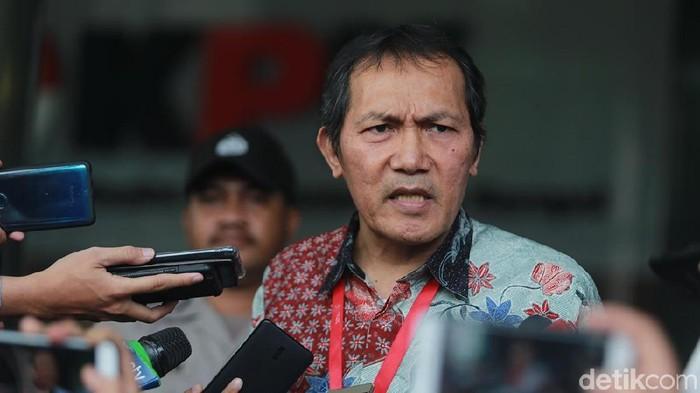 Wakil Ketua KPK Saut Situmorang (Ari Saputra/detikcom)
