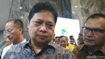 Hadiri Halalbihalal, Airlangga Apresiasi Perjuangan Kader di Pemilu