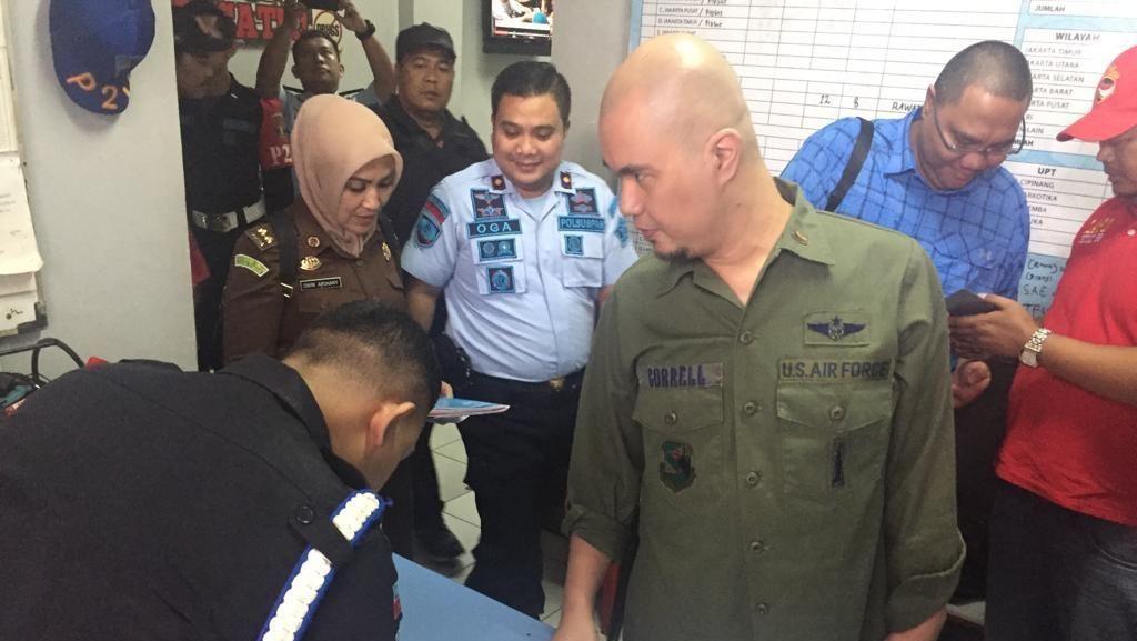Ahmad Dhani Senang di Rutan Cipinang, Bisa Dekat dengan Keluarga