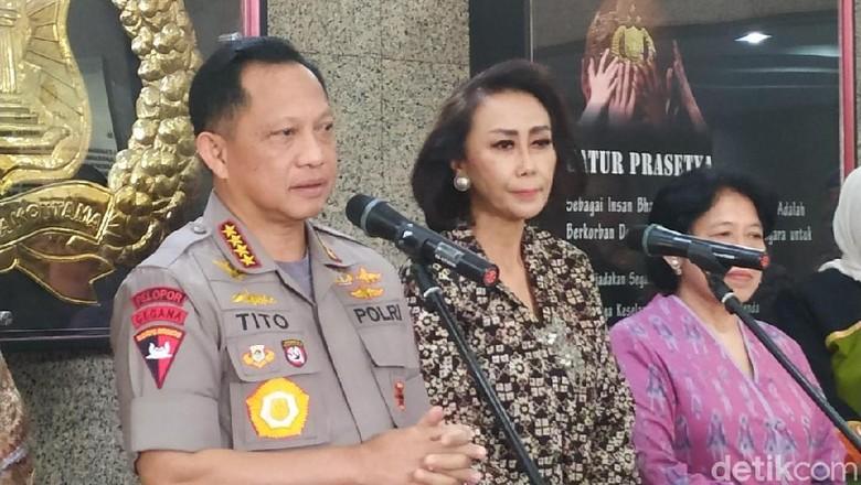 Pansel Temui Kapolri, Bahas Kandidat Polisi untuk Seleksi Capim KPK