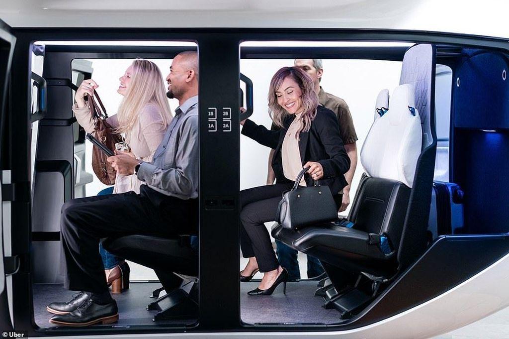 Uber mematangkan rencananya meluncurkan layanan sewa helikopter bernama Uber Air. Layanan taksi terbang ini siap mengudara di 2023.Foto: Uber