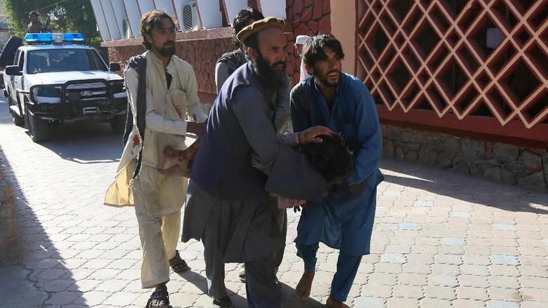 Bom Bunuh Diri di Jalalabad Afghanistan, 9 Orang Tewas